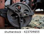 railway signalling mechanism | Shutterstock . vector #423709855