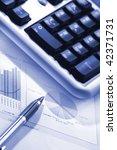 financial graph | Shutterstock . vector #42371731