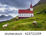 Church In Kalsoy Island  Faroe...