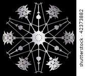 snowflake pattern   Shutterstock .eps vector #42373882