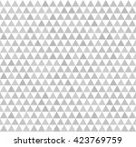 triangle pattern. seamless... | Shutterstock .eps vector #423769759
