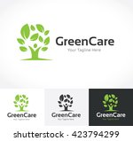 green care logo template. | Shutterstock .eps vector #423794299