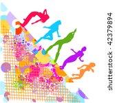 vector illustration of disco | Shutterstock .eps vector #42379894