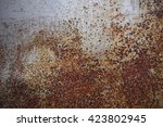 Grunge Rusty Metal Background...