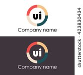 ui letters business logo icon...