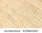 Texture Of Bamboo Weaving...