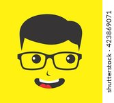 geek | Shutterstock .eps vector #423869071