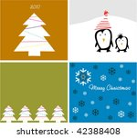 collection backgrounds for new... | Shutterstock .eps vector #42388408