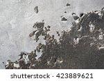 texture background of burnt...   Shutterstock . vector #423889621