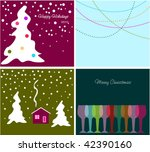 collection backgrounds for new... | Shutterstock .eps vector #42390160