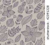 seamless floral pattern for... | Shutterstock . vector #42391228