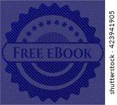 free ebook emblem with denim...