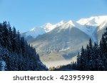 winter canadian rockies... | Shutterstock . vector #42395998