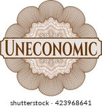 uneconomic linear rosette | Shutterstock .eps vector #423968641