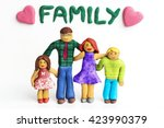 family together made of... | Shutterstock . vector #423990379