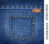 background simple denim with...   Shutterstock . vector #424015024