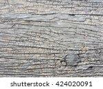 crack wood texture background | Shutterstock . vector #424020091
