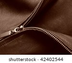 sepia toned leather jacket... | Shutterstock . vector #42402544