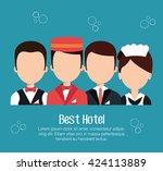 Hospitality Free Vector Art