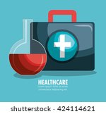 medical healthcare design  | Shutterstock .eps vector #424114621