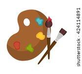 paint pallette  design
