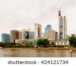 frankfurt am main  germany  ... | Shutterstock . vector #424121734