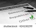Small photo of Voter Registration Form - Other / Third Party