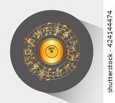music awards design  | Shutterstock .eps vector #424144474