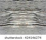 crack rough tree wood texture... | Shutterstock . vector #424146274