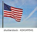 American Flag Usa Stars And...