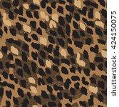 dynamic animal seamless pattern ...   Shutterstock .eps vector #424150075