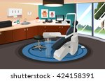 a vector illustration of modern ... | Shutterstock .eps vector #424158391