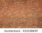 Old Large Red Brick Wall...
