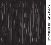 heavy rain vector on black... | Shutterstock .eps vector #424250641