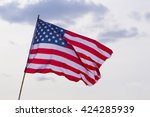 United States Flag At...
