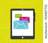 wearable technology design  | Shutterstock .eps vector #424307731