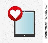 wearable technology design  | Shutterstock .eps vector #424307767