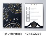 background restaurant menu... | Shutterstock .eps vector #424312219