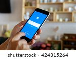 chiang mai thailand  may   5  ... | Shutterstock . vector #424315264