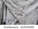 old dirty torn rag | Shutterstock . vector #424353385