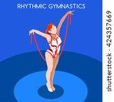 Rhythmic Gymnastics Rope...