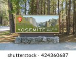 Yosemite National Park Sign In...