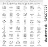 vector business management... | Shutterstock .eps vector #424377724