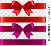 Color Bows Isolated Isolated O...