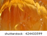 sweet honey texture background | Shutterstock . vector #424433599