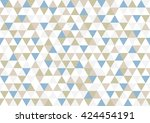 vector abstract pattern blue... | Shutterstock .eps vector #424454191