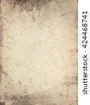 old vintage paper sheet....   Shutterstock . vector #424468741