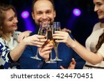 party  holidays  celebration ... | Shutterstock . vector #424470451