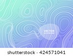 abstract vector background with ... | Shutterstock .eps vector #424571041