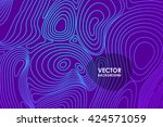 abstract vector violet... | Shutterstock .eps vector #424571059